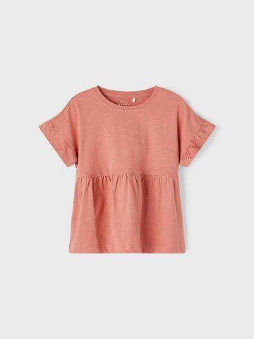 חולצה בשילוב כיווצים / 1.5Y-5Y של NAME IT