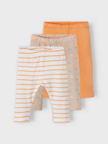 מארז 3 מכנסי טרנינג בצבעים שונים / 1M-1.5Y של NAME IT