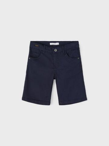 מכנסי ג'ינס קצרים בסיומת קיפול / בנים של NAME IT