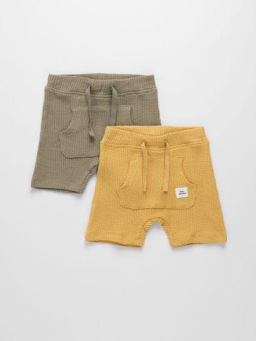 מארז 2 מכנסי טרנינג / 1M-1.5Y של NAME IT