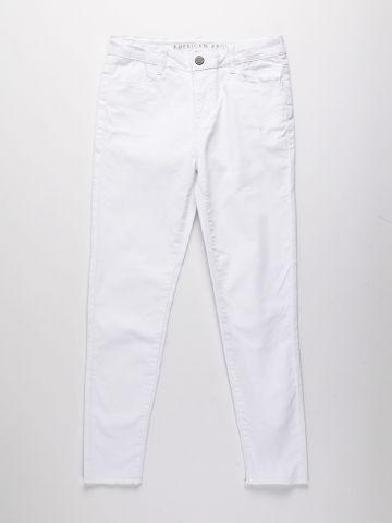 ג'ינס סקיני עם סיומת גזורה / בנות של AMERICAN EAGLE