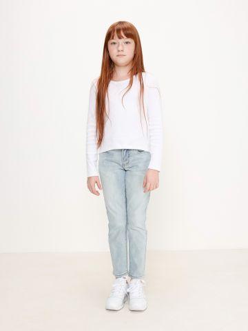 ג'ינס סקיני בשטיפה בהירה / בנים של AMERICAN EAGLE