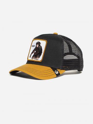 כובע מצחיה עם פאץ' קוף / ילדים של GOORIN BROS