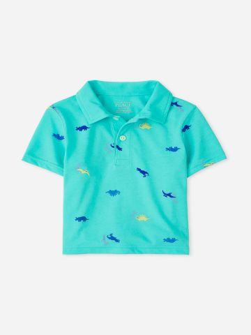 חולצת פולו בהדפס דינוזאורים / 9M-4Y של THE CHILDREN'S PLACE