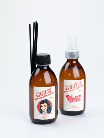 סט מפיץ ריח ומבשם בדים דונה של VAZI VAZI