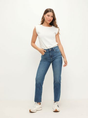 ג'ינס ארוך סופר סטראץ' שיפשופים Extra Fit של AMERICAN EAGLE