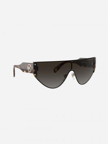 משקפי שמש אסימטרים בסגנון מנומר / נשים של MICHAEL KORS