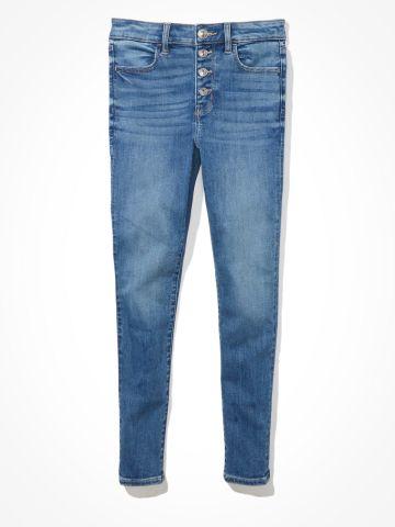 ג'ינס סקיני Hi rise Jegging Crop של AMERICAN EAGLE