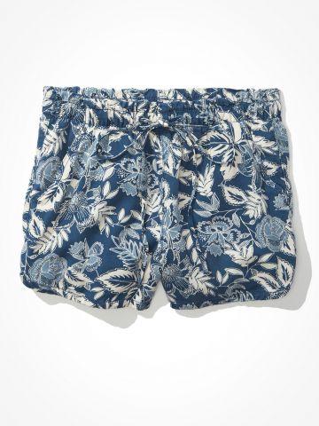 מכנסיים קצרים בהדפס פרחים של AMERICAN EAGLE