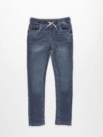 ג'ינס סקיני עם שרוך קשירה Skinny Taper Fit Dobby / בנים של LEVIS