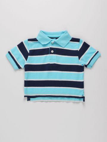 חולצת פולו בהדפס פסים / 9M-4Y של THE CHILDREN'S PLACE