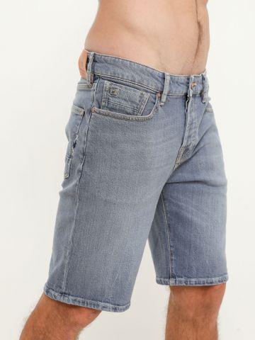 ג'ינס קצר עם כיסים בשילוב רקמה של SCOTCH & SODA