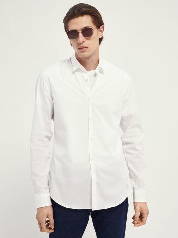 חולצה מכופתרת קלאסית של SCOTCH & SODA