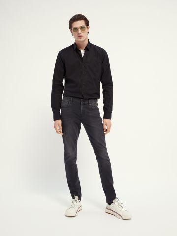 ג'ינס בשטיפה כהה בגזרת Slim של SCOTCH & SODA