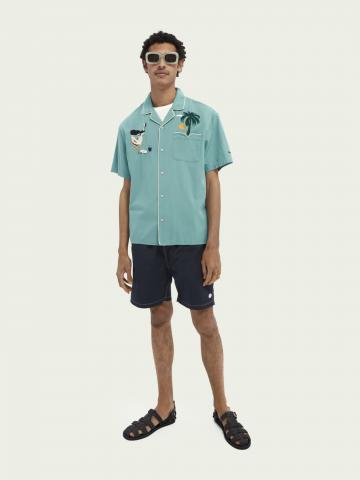 מכנסי בגדי ים חלקים של SCOTCH & SODA