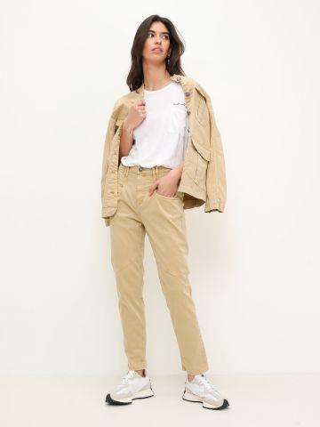 ג'ינס ווש עם תפרים בולטים של SACKS