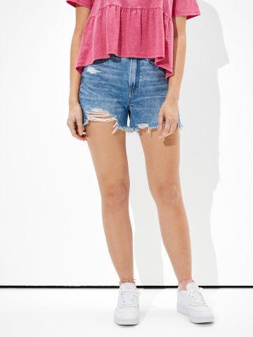 ג'ינס קצר בסיומת קרעים / נשים של AMERICAN EAGLE