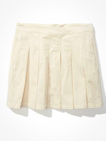 חצאית מיני בסנון כפלים / נשים של AMERICAN EAGLE
