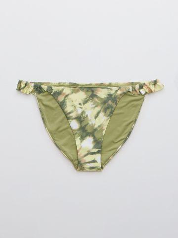 תחתון בגד ים בהדפס בשילוב מלמלה / נשים של AERIE
