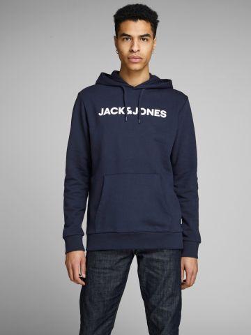 סווטשירט עם הדפס לוגו של JACK AND JONES