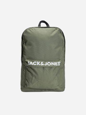 תיק גב עם לוגו של JACK AND JONES