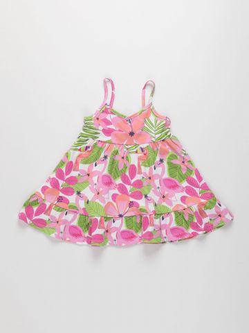 שמלת קומות בהדפס פרחים / 6M-4Y של THE CHILDREN'S PLACE