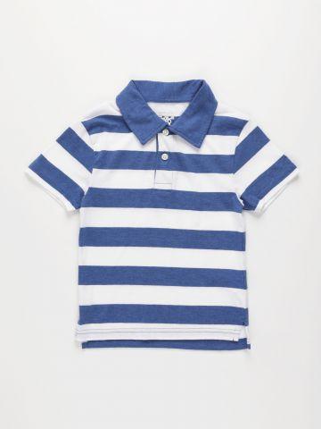 חולצת פולו בהדפס פסים / בנים של THE CHILDREN'S PLACE