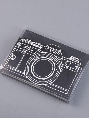 מארז 5 כרטיסי ברכה עם הדפס מצלמה של FUNKY FISH