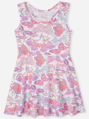 שמלה בהדפס פרפרים / בנות של THE CHILDREN'S PLACE