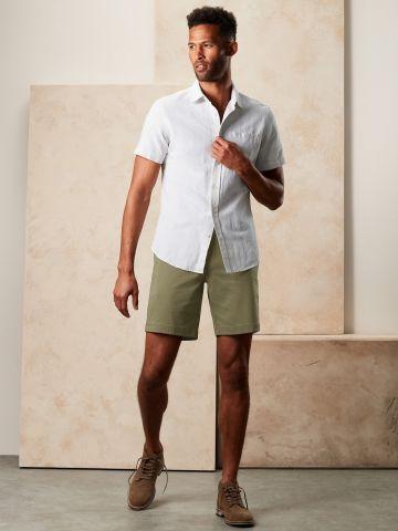 מכנסיים קצרים מחוייטים של BANANA REPUBLIC