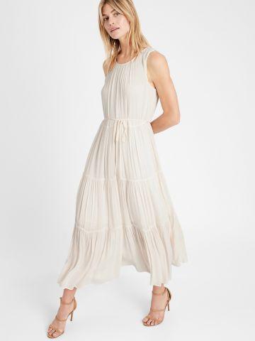 שמלת מקסי בסגנון קומות / נשים של BANANA REPUBLIC