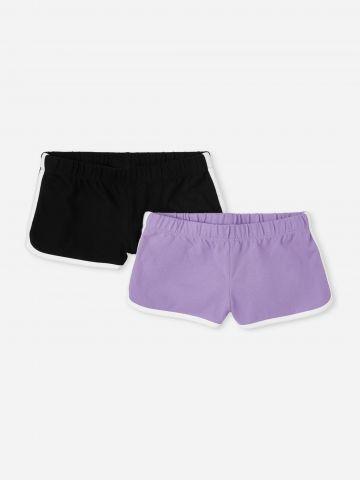 מארז 2 מכנסי טרנינג עם סטריפים / בנות של THE CHILDREN'S PLACE