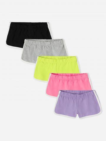 מארז 5 מכנסי טרנינג עם סטריפים / בנות של THE CHILDREN'S PLACE