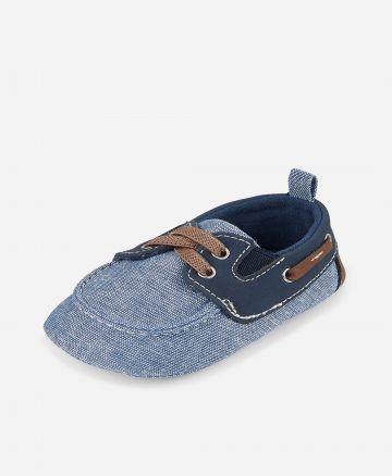 נעלי מוקסין דמוי ג'ינס / בייבי בנים של THE CHILDREN'S PLACE
