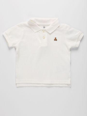 חולצת פולו עם רקמה / 12M-5Y של GAP