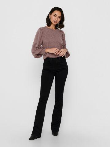 ג'ינס מתרחב בגזרה גבוהה של ONLY