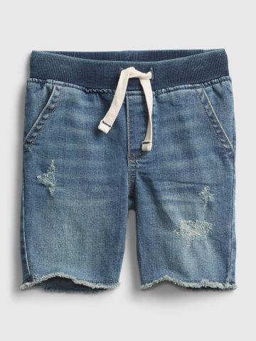 מכנסי ג'ינס קצרים עם שיפשופים / 12M-5Y של GAP
