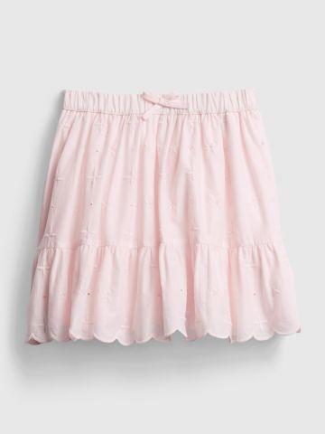 חצאית עם עיטורי רקמה / בנות של GAP