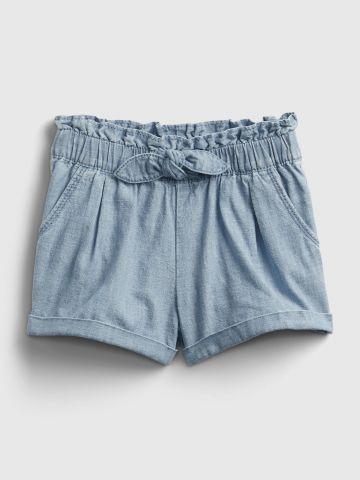 מכנסיים קצרים בשילוב מלמלה / 12M-5Y של GAP