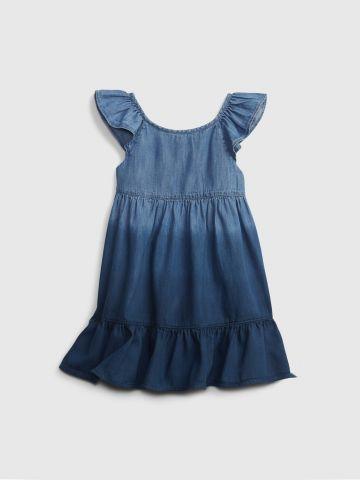 שמלת ג'ינס פפלום אומברה / 12M-5Y של GAP