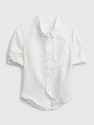 חולצה מכופתרת בייסיק / 12M-5Y של GAP