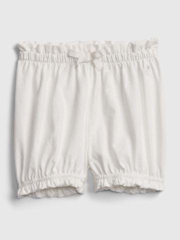מכנסיים קצרים בשילוב מלמלה / 0-2Y של GAP