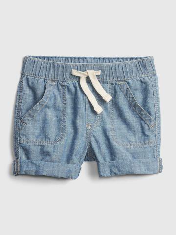 מכנסיים קצרים בסגנון ג'ינס / 0-2Y של GAP