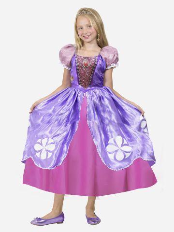 תחפושת הנסיכה סופיה לילדות / תחפושת לפורים של TOYS