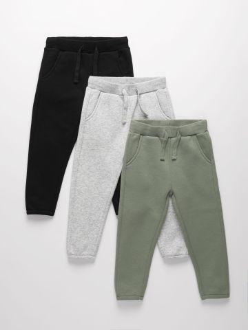 מארז 3 מכנסי טרנינג פוטר / 3M-14Y של TERMINAL X KIDS