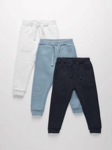 מארז 3 מכנסי פוטר  / 3M-14Y של TERMINAL X KIDS