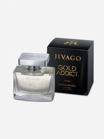 בושם גולד אדיקט לגבר Gold Addict Woman 100ML של JIVAGO