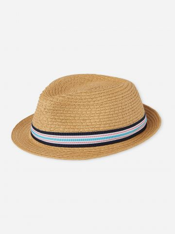 כובע קש עם סרט / בייבי בנים של THE CHILDREN'S PLACE