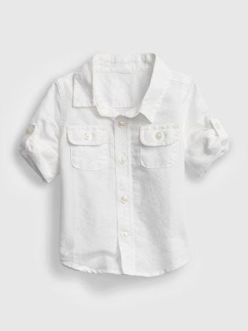 חולצה מכופתרת / 0-2Y של GAP