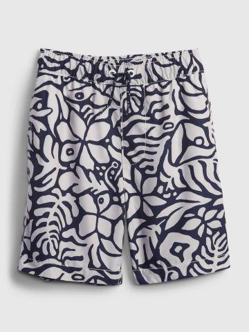 מכנסי בגדי ים בהדפס פרחוני של GAP